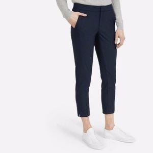 Everlane Black Slim Wool Trousers Pants Crop 6